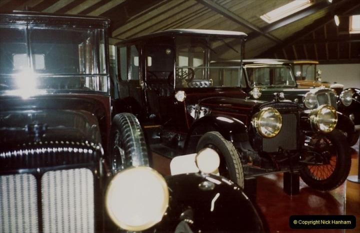 1988 Sandringham, Norfolk. The Royal Car collection. (43)680506