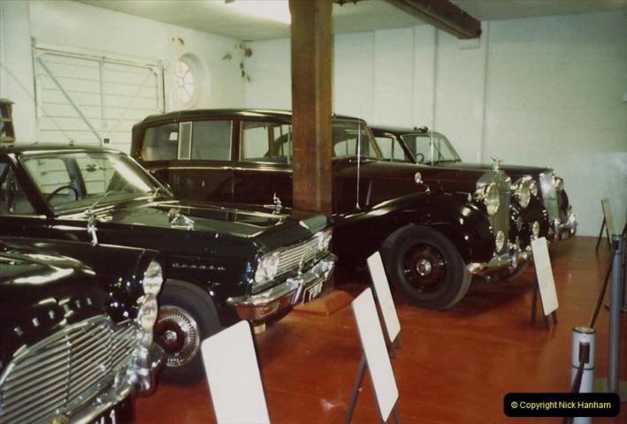 1988 Sandringham, Norfolk. The Royal Car collection. (45)682508