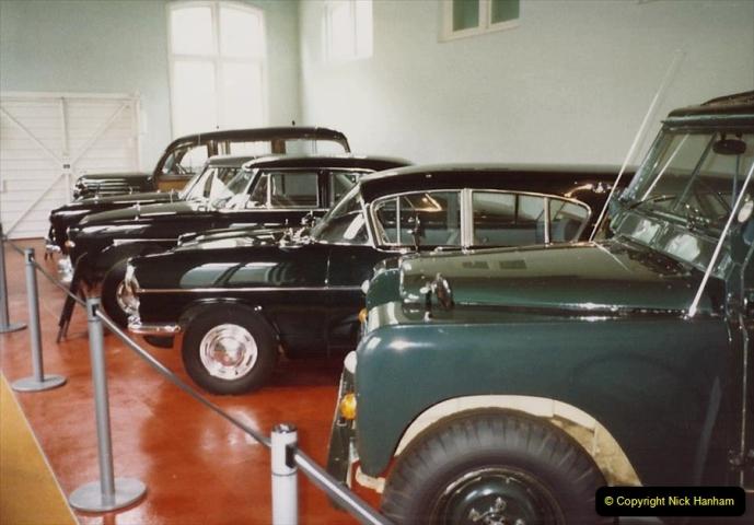1988 Sandringham, Norfolk. The Royal Car collection. (47)684510