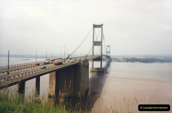 1988 The first Severn Bridge crossing. (36)696532