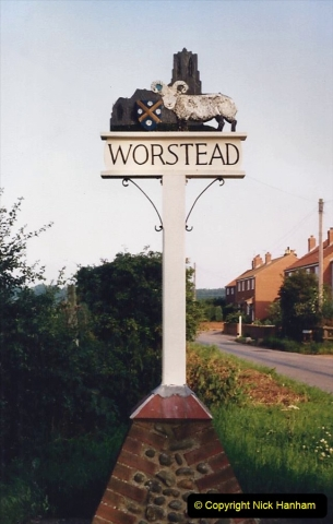 1988 Worcested, Norfolk. (69a) (1)711554