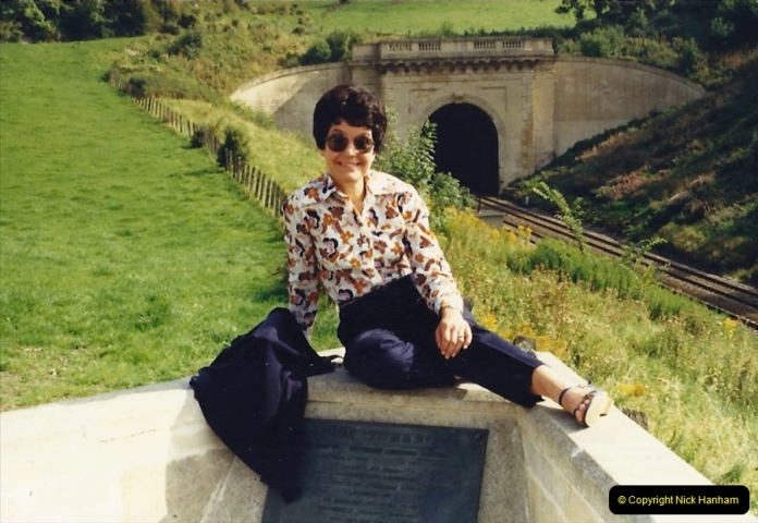 1988 Your Host's Wife at Box Tunnell (On the GWR) Somerset. (20)717560