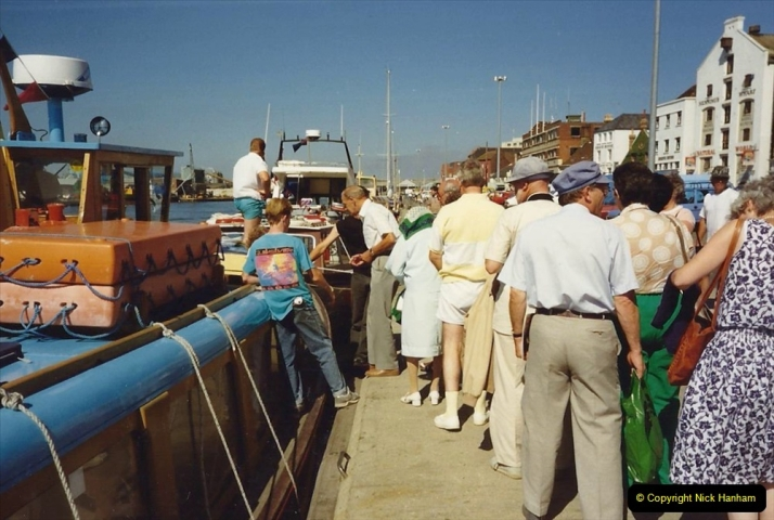 1989 A trip by river from Poole to Wareham. (2) 563
