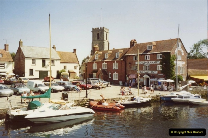 1989 A trip by river from Poole to Wareham. (5) 566