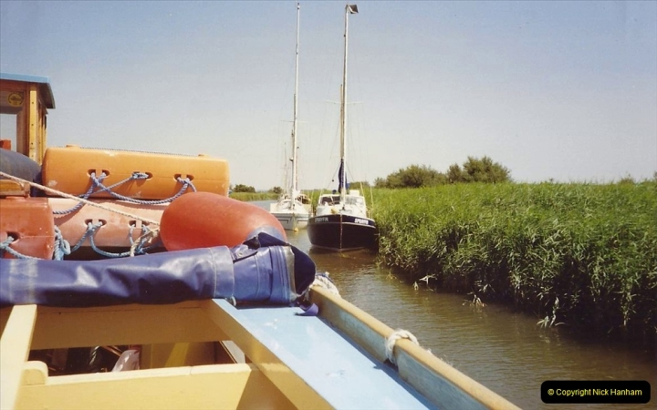 1989 A trip by river from Poole to Wareham. (6) 567