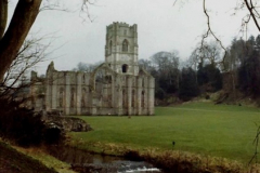 1983 Cumbria & Yorkshire. (1) Fountains  Abbey. 052243052