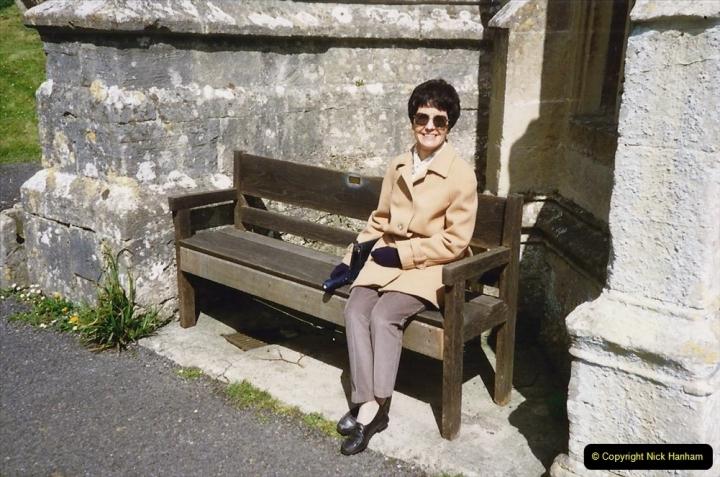 1990 Miscellaneous. (17) Dyrham Park (NT) near Bath, Somerset. Your host's Wife.0017