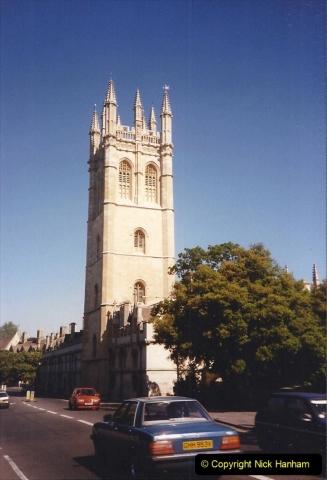 1990 Miscellaneous. (23) Oxford. 0023