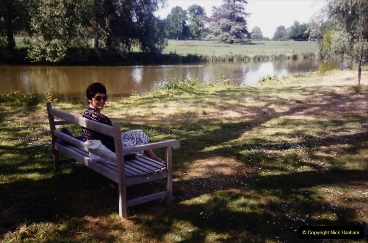 1990 Miscellaneous. (28) The Vyne (NT) near basingstoke Hampshire. Your Host's Wife. 0028