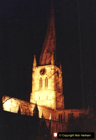 1990 Miscellaneous. (48) Chesterfield, Derbyshire. The famous twisted spire.0048