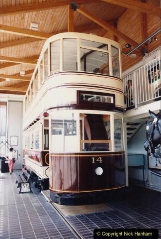 1992 Miscellaneous. (155) Swansea Old Dock & Maratime Museum. Mumbles Tram.0157