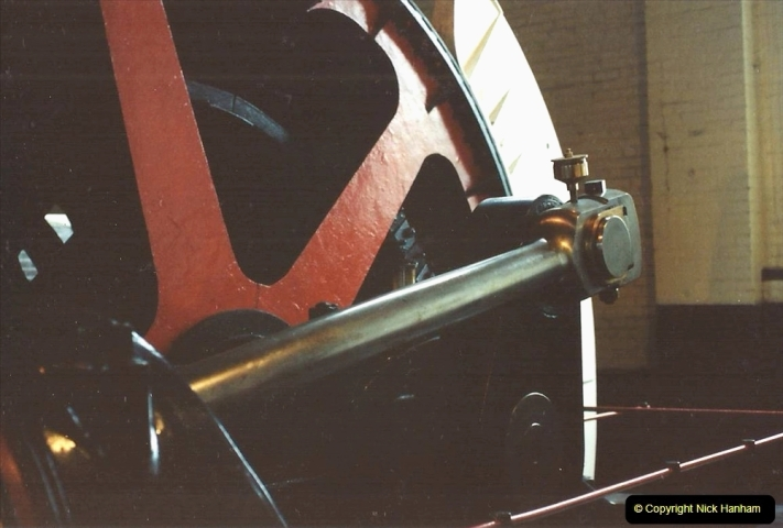1992 Miscellaneous. (164) Cefn Coed Mine. & Museum. Pit head winding gear.0166