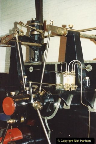 1992 Miscellaneous. (165) Cefn Coed Mine. & Museum. Pit head winding gear.0167