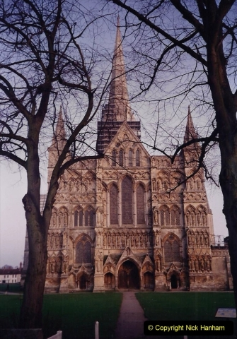 1992 Miscellaneous. (211) Salisbury Cathedral. 0213