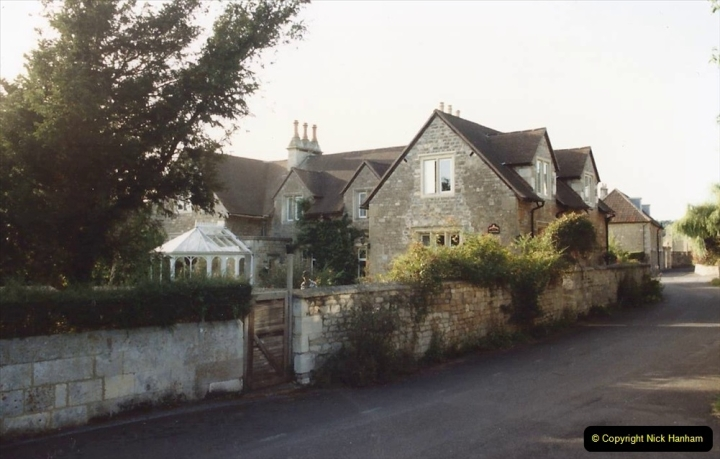 1992 Miscellaneous. (293) Bathford, Somerset. Staying at the Old School House. 0295