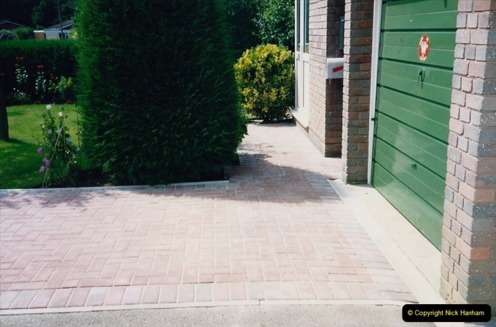 1993 Miscellaneous. (392) New driveway for your Host & Wife. 0396
