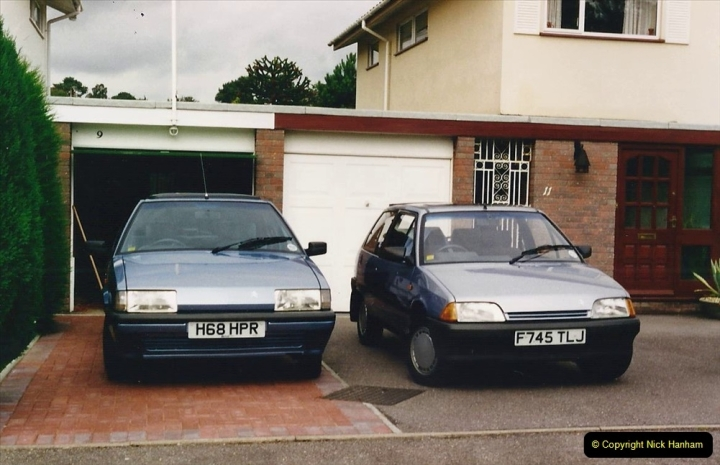1993 Miscellaneous. (395) Our old cars on the way out 29 July. 0399