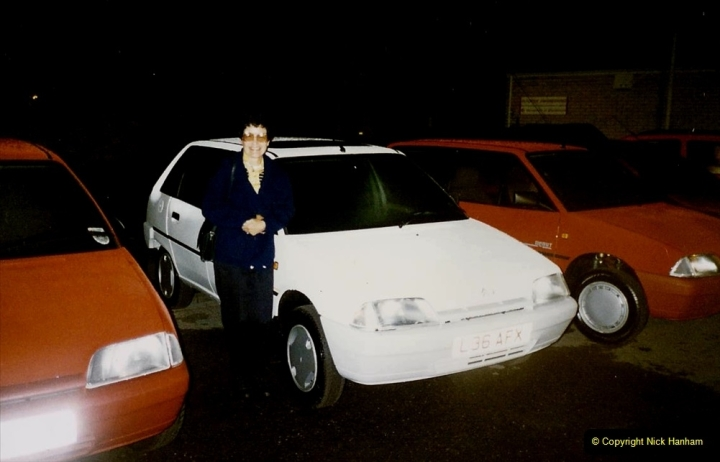 1993 Miscellaneous. (401) Collecting our new cars at 0001 on 01 August. Your Host's Wife.0405