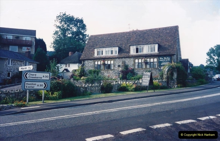 1993 Miscellaneous. (415) B&B in Yarcombe, Somerset. 0419