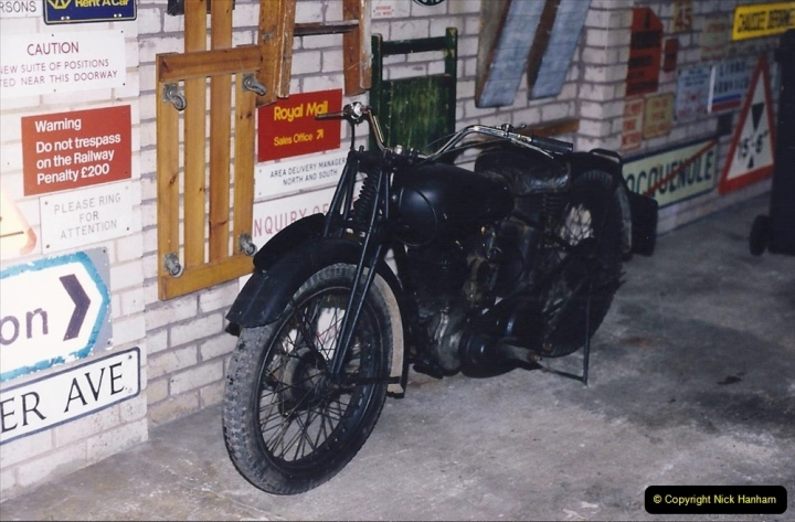 1993 Miscellaneous. (420) Your host purchases a 1936 250cc BSA in very poor condition. A retirement project to restore.0424