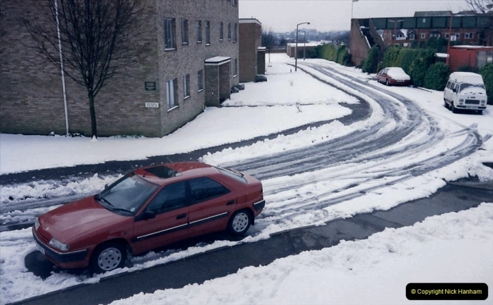 1994 Miscellaneous. (531) Snow in Poole, Dorset. 0435