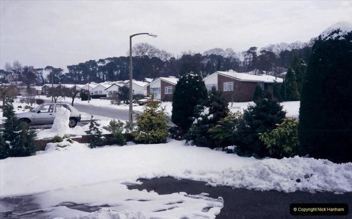 1994 Miscellaneous. (532) Snow in Poole, Dorset. 0436