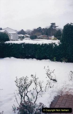 1994 Miscellaneous. (533) Snow in Poole, Dorset. 0437