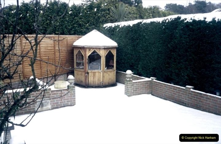 1994 Miscellaneous. (534) Snow in Poole, Dorset. 0438