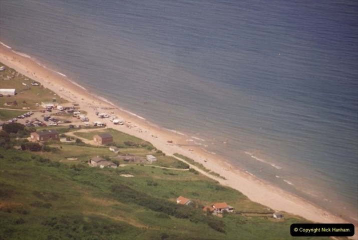 1994 Miscellaneous. (565) D Day Landings flight from Bournemouth Hurn Airport to the French Coast. Over the beaches. 0469