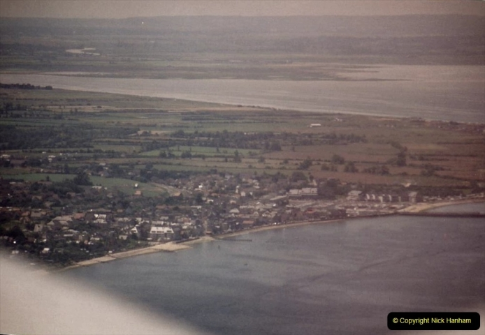 1994 Miscellaneous. (578) D Day Landings flight from Bournemouth Hurn Airport to the French Coast. The beaches. 0482