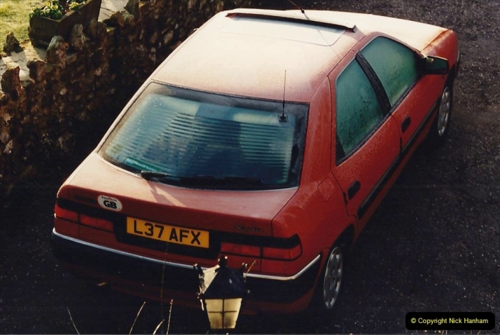 1995 Miscellaneous. (12) Yarcombe, Somerset for B&B. 0511