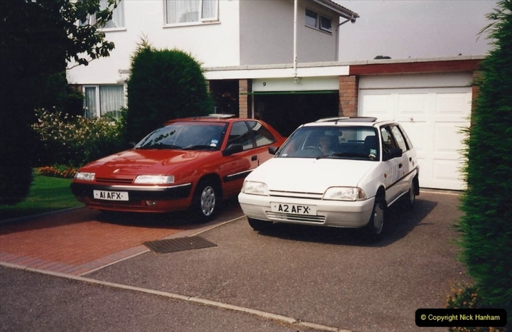 1995 Miscellaneous. (58) Your Host and Wife's Cars.0557