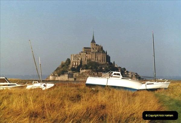 1983 North West France. (19) Mont St.Michel. 019