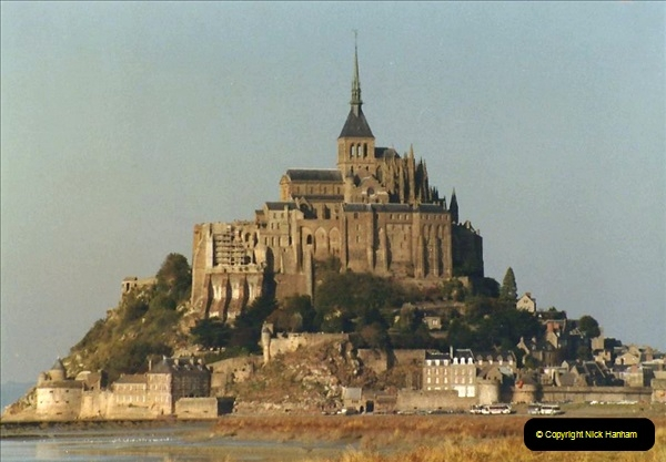 1983 North West France. (20) Mont St.Michel. 020