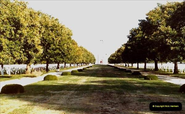 1983 North West France. (21) American War Graves - St.James. 021