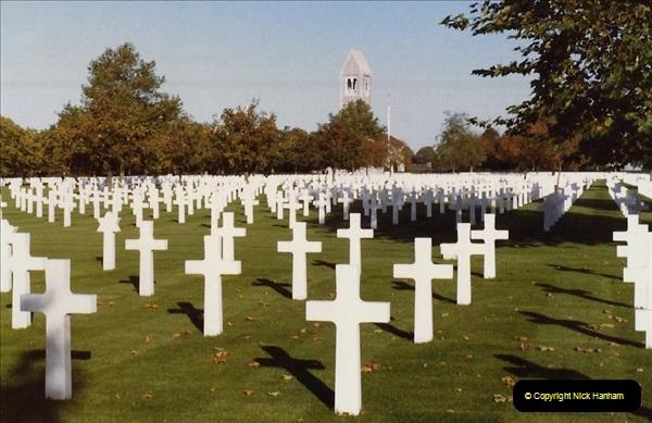 1983 North West France. (22) American War Graves - St.James. 022