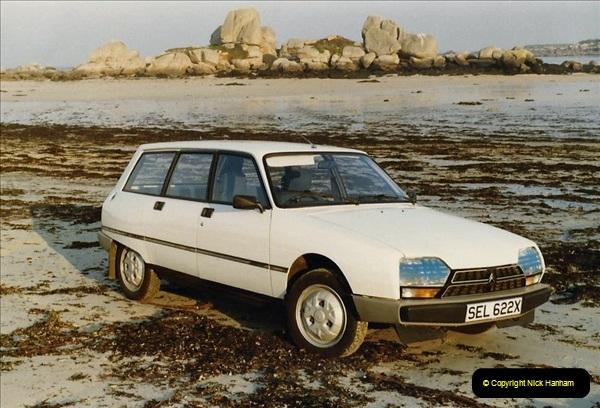 1983 North West France. (43) Brignogan Plage, North Coast. 043