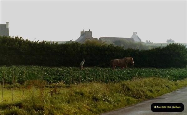 1983 North West France. (44) Fields near Plouescat. 044