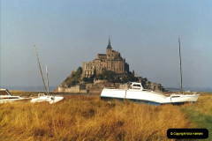 1983 North West France. (19) Mont St.Michel. 019