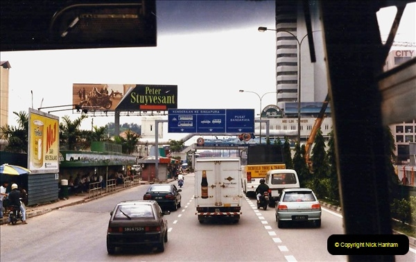 Retrospective Singapore February 1996 with your Host & Late Mother.  (160) 001