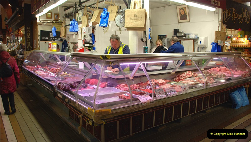 2019-04-01 & 02 Cobh - Cork - Captains Table. (101) The famous English Market in Cork. 101101