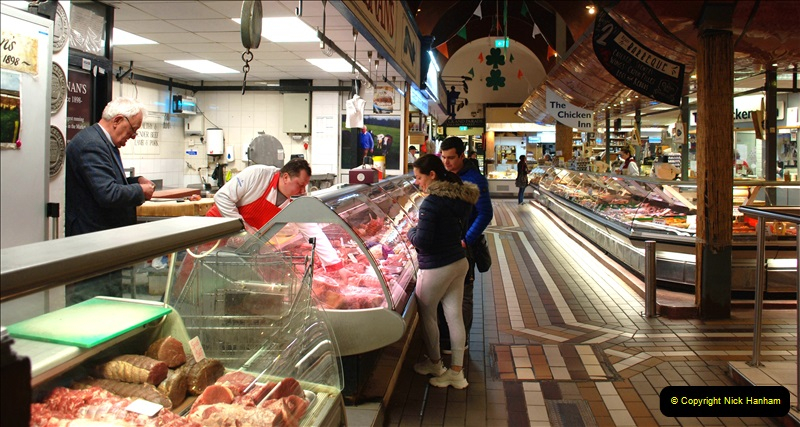 2019-04-01 & 02 Cobh - Cork - Captains Table. (103) The famous English Market in Cork. 103103