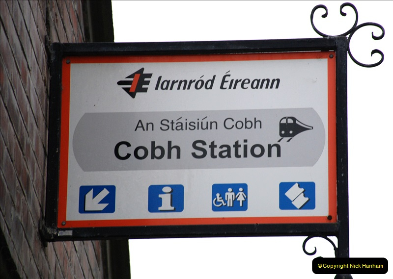 2019-04-01 & 02 Cobh - Cork - Captains Table. (24) The Cobh to Cork train journey is only 24 minutes. 024024