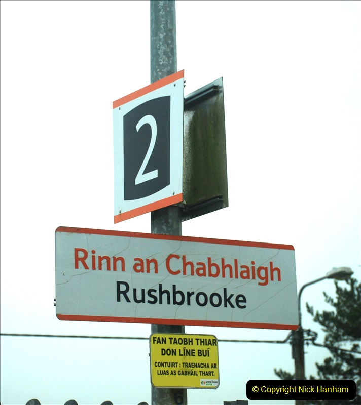 2019-04-01 & 02 Cobh - Cork - Captains Table. (30) The Cobh to Cork train journey is only 24 minutes. 030030