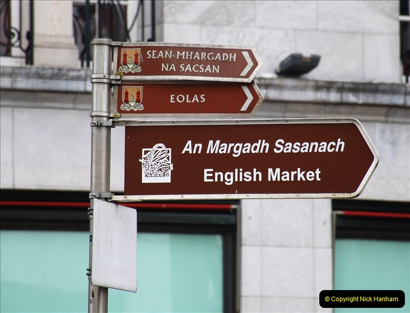 2019-04-01 & 02 Cobh - Cork - Captains Table. (97) The famous English Market in Cork. 097097