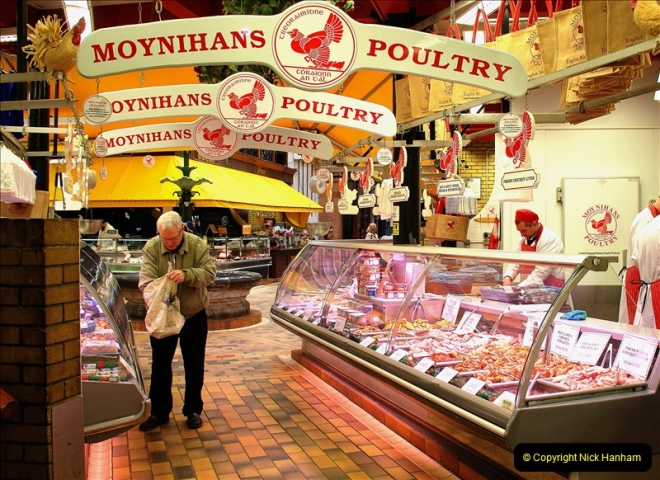 2019-04-01 & 02 Cobh - Cork - Captains Table. (113) The famous English Market in Cork. 113113