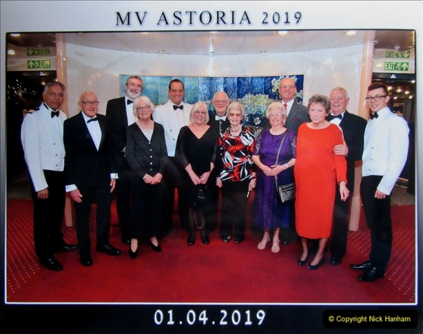 2019-04-01 & 02 Cobh - Cork - Captains Table. (254) Your Host and Wife are invited to the Captain's Table. 254254