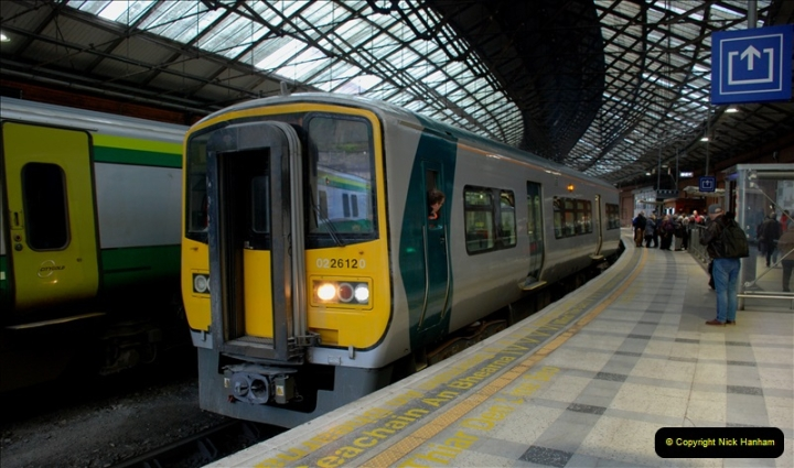 2019-04-01 & 02 Cobh - Cork - Captains Table. (50) The Cobh to Cork train journey is only 24 minutes. 050050