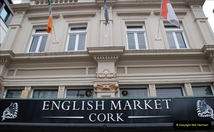 2019-04-01 & 02 Cobh - Cork - Captains Table. (98) The famous English Market in Cork. 098098