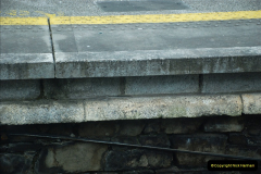 2019-04-01 & 02 Cobh - Cork - Captains Table. (39) The Cobh to Cork train journey is only 24 minutes. Note platform level increased.039039